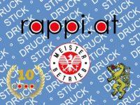 rappi.at, druck stick, inkl. Meister, Jubiläum, Panther, 2020