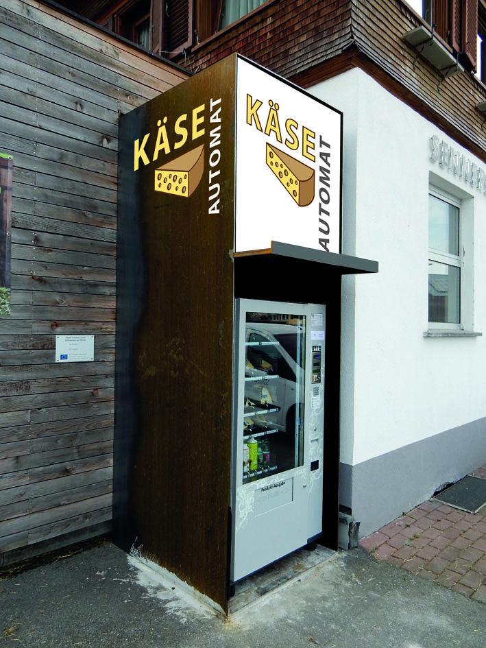 Käse-Automat