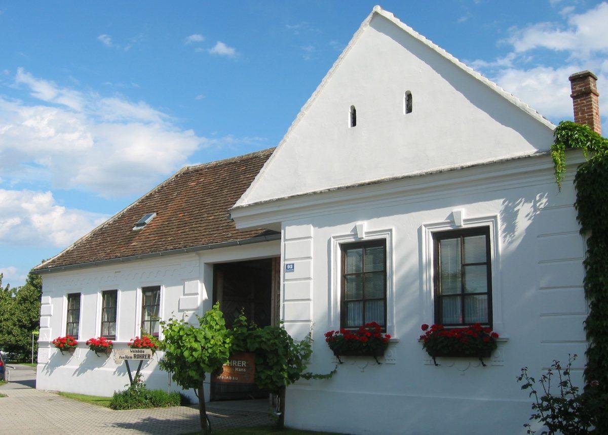 Weinbau Fam. Rohrer_Haus