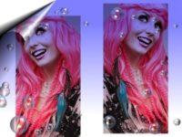 Echthaar-Hair-Extensions-Straehnen-Pink